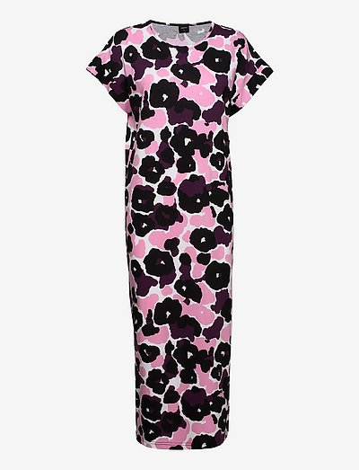 Ladies long nightgown, Onerva - natkjoler - pink