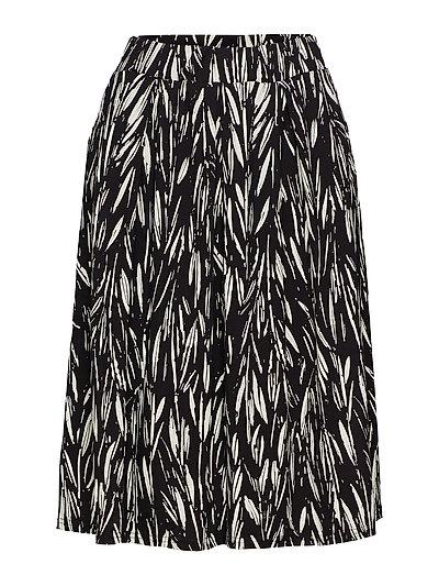 Ladies skirt, Manteli - BLACK