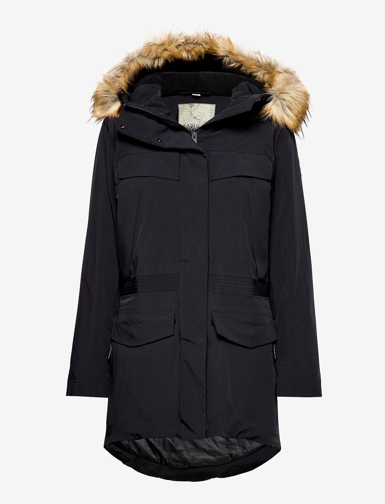 Napapijri - SKIDOO W SL PARKA - parka coats - black - 0
