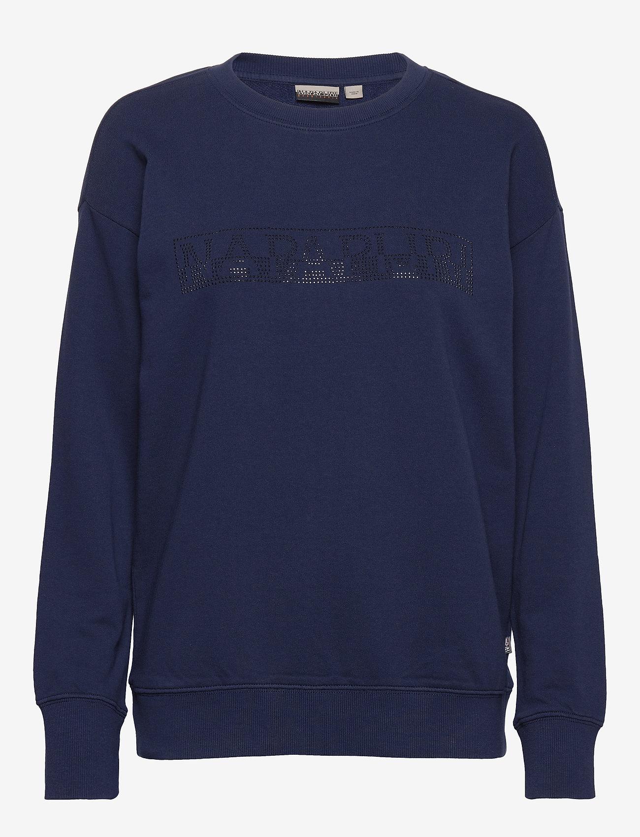 Napapijri - BICCARI C - sweaters - medieval blue - 0