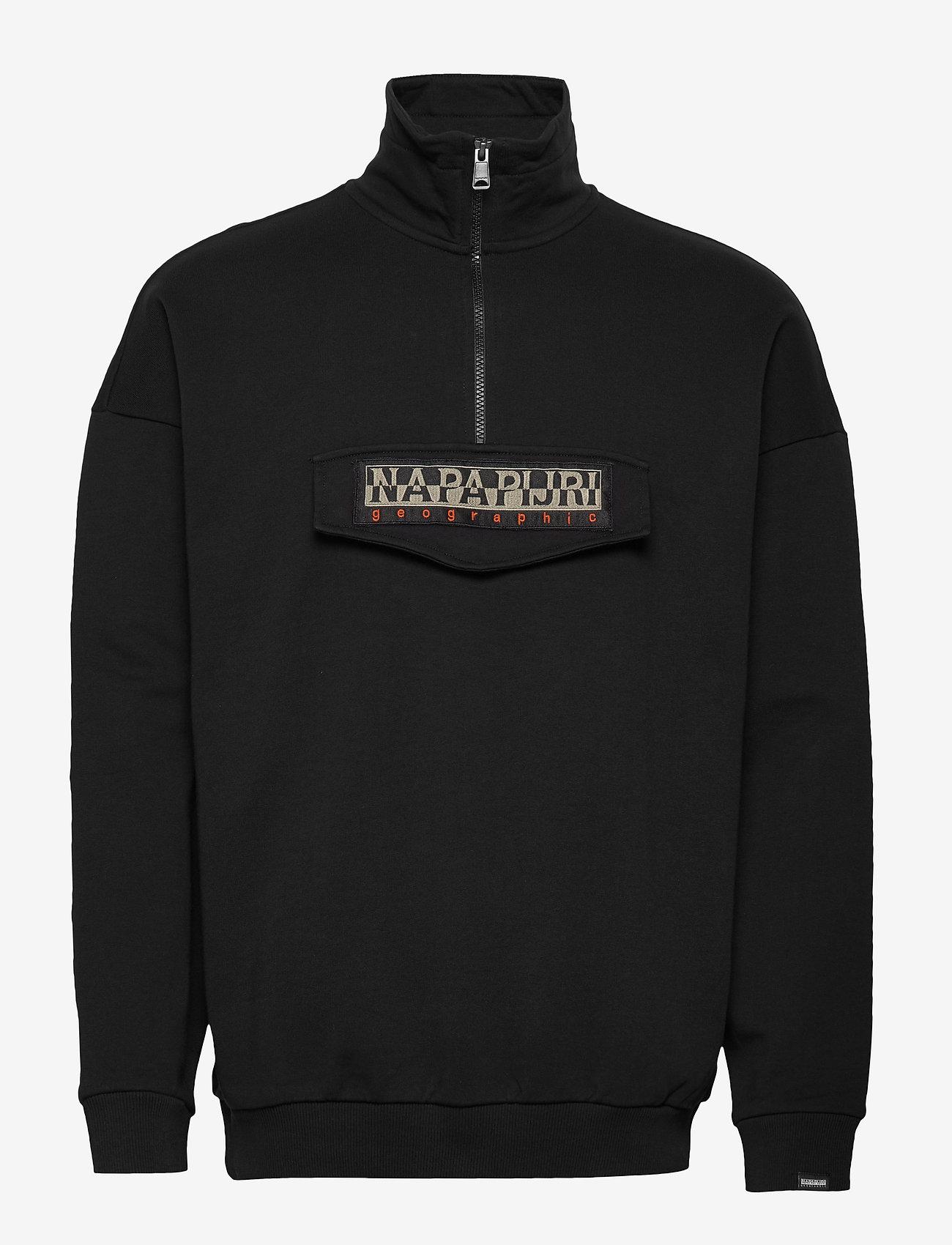Napapijri BASE HZ - Sweats BLACK KodjO8R3