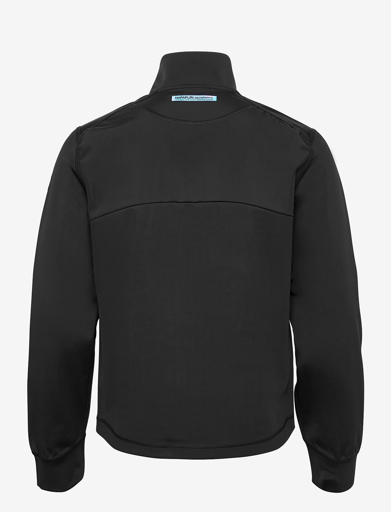 Napapijri - TERIN FZ - basic-sweatshirts - black - 1