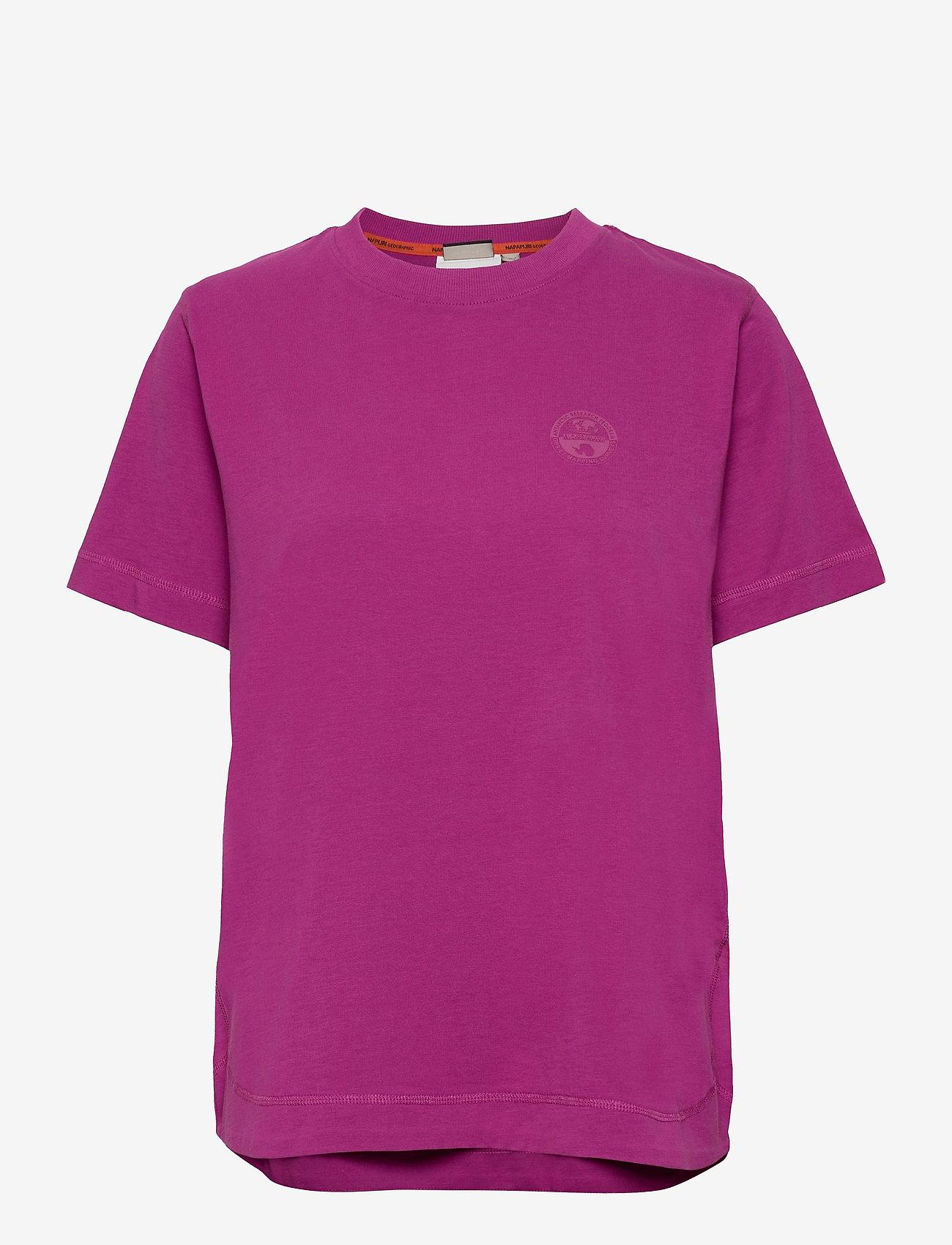 Napapijri - SILBE W - t-shirts - clover purple - 0