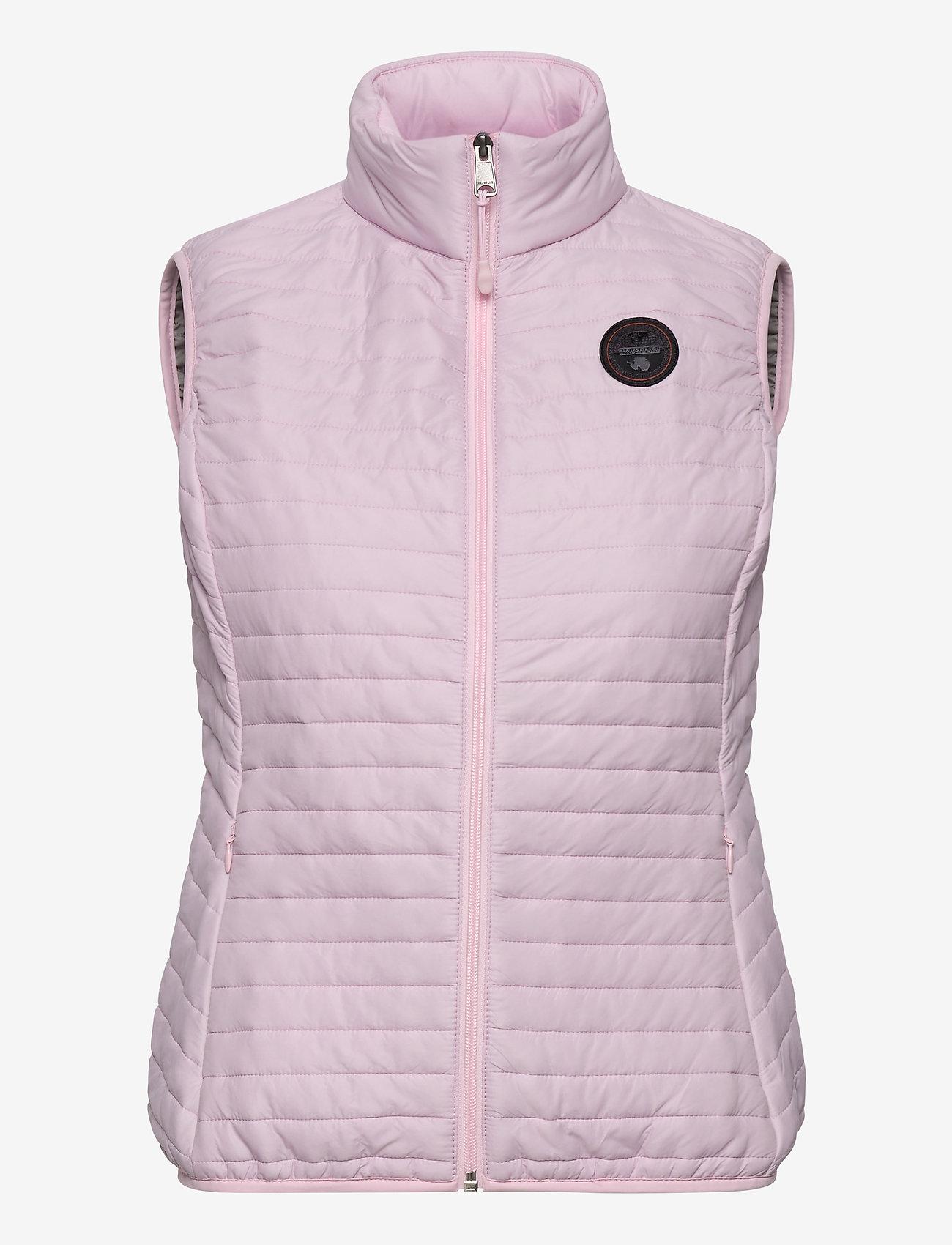 Napapijri - ACALMAR W VEST 2 - puffer vests - petal pink - 0