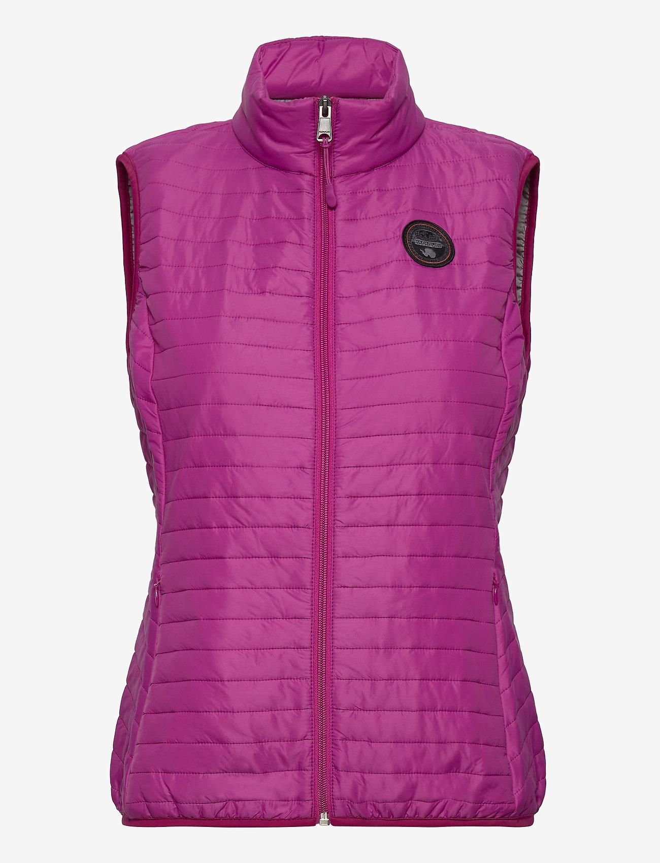 Napapijri - ACALMAR W VEST 2 - puffer vests - clover purple - 0