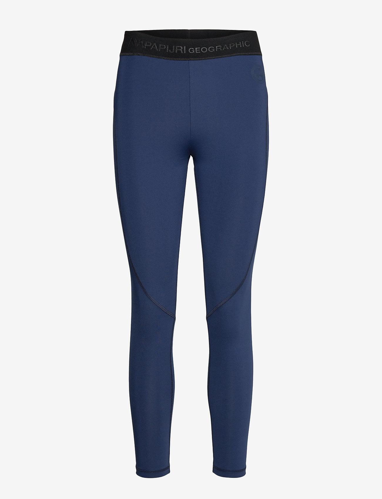 Napapijri - MILBE W - leggings - medieval blue - 0