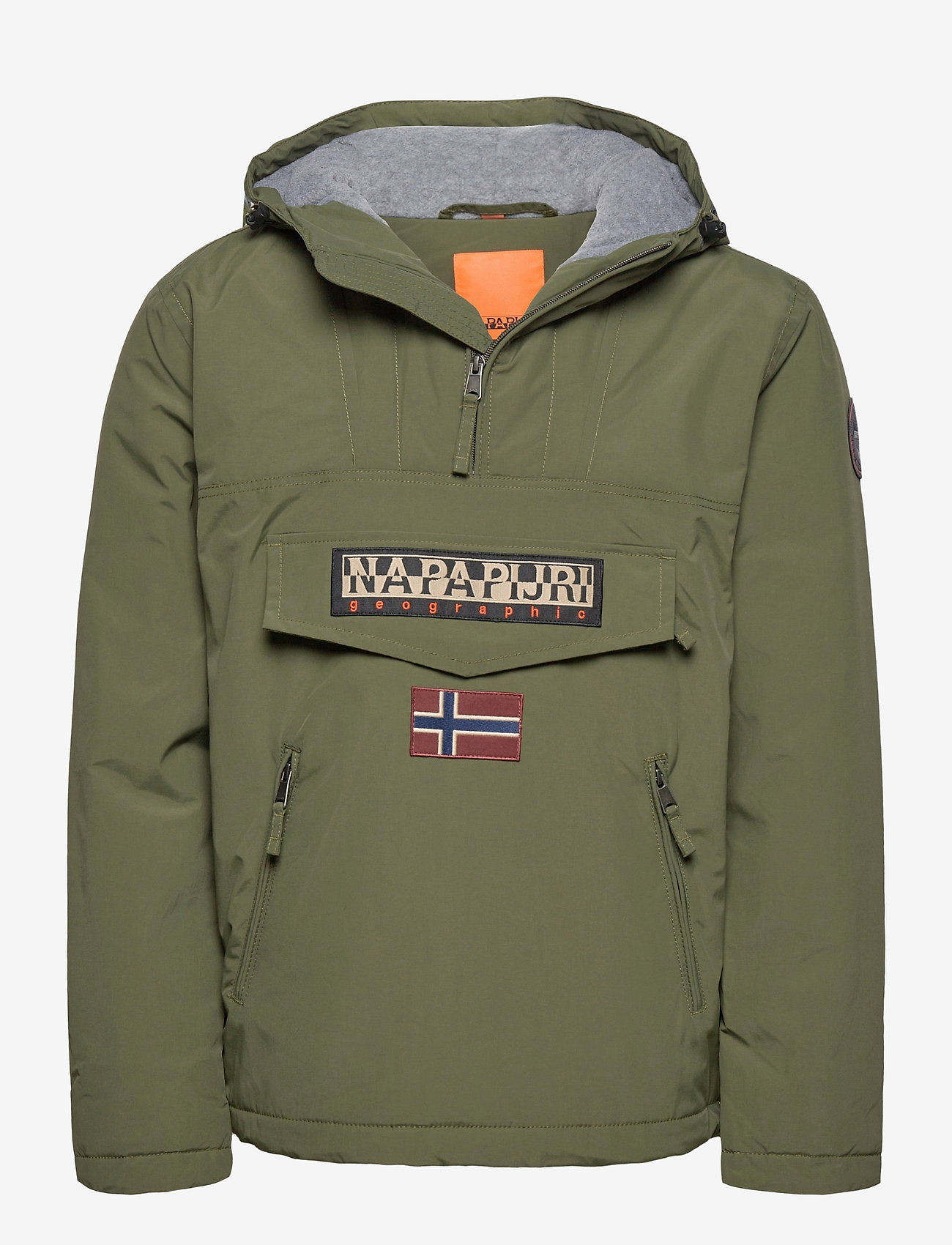 Napapijri RAINFOREST POCKET 1 - Jakker og frakker GREEN DEPTHS - Menn Klær