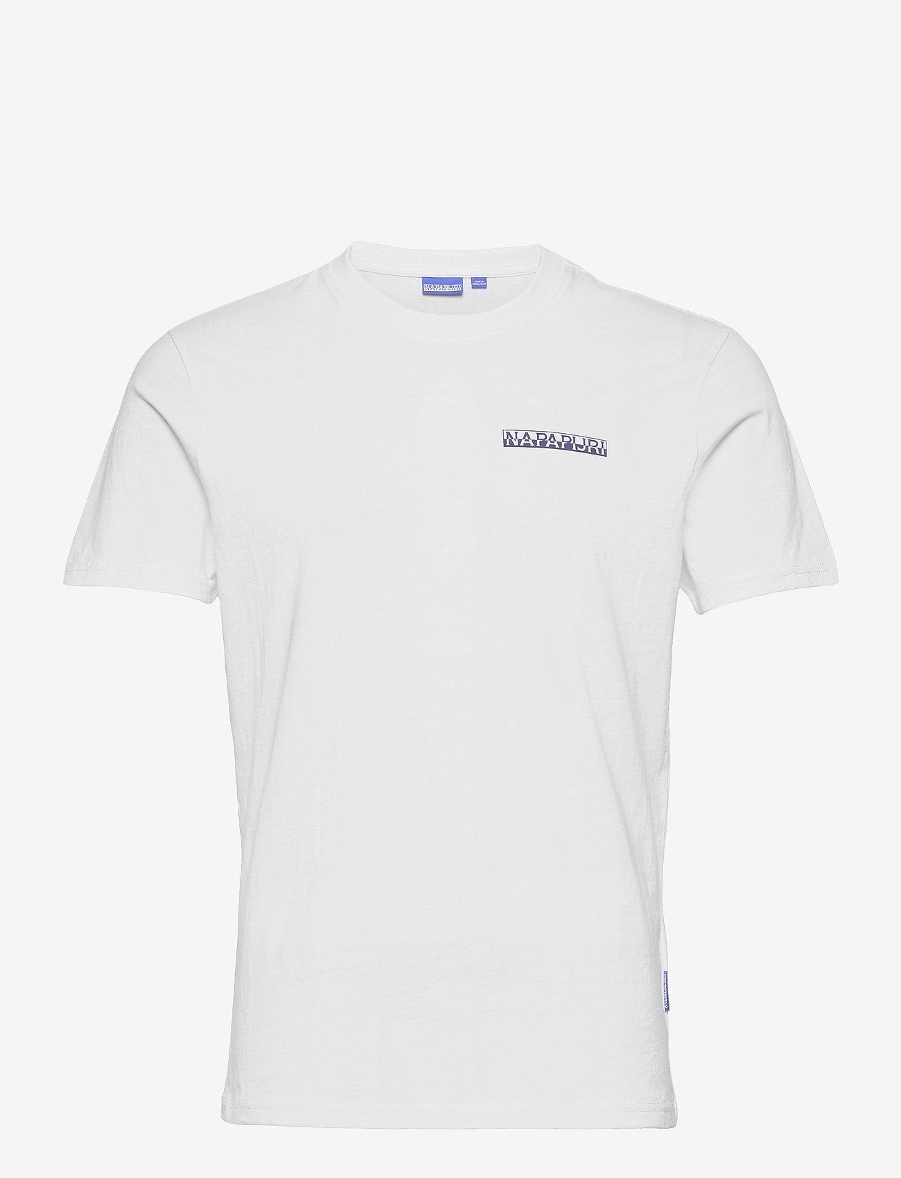 Napapijri - S-SURF SS - basic t-shirts - bright white - 1
