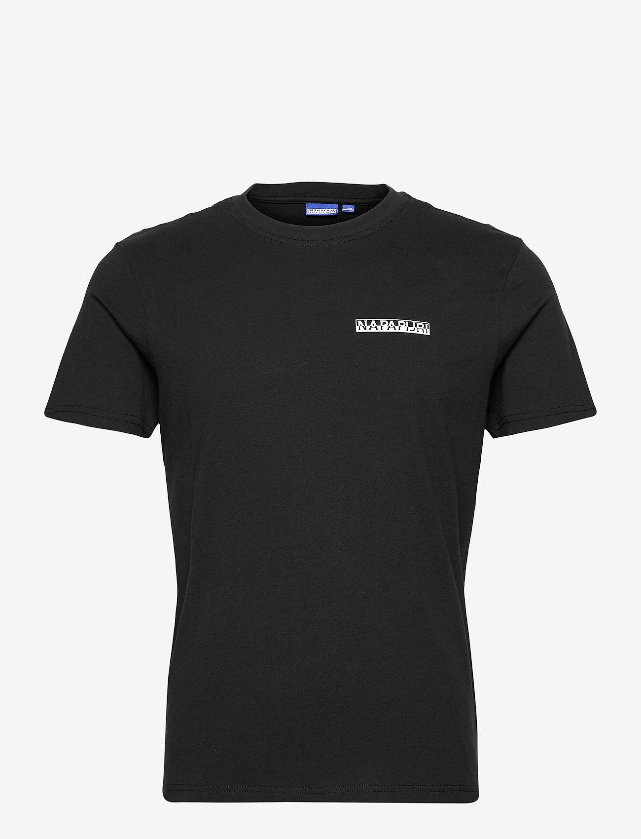 Napapijri - S-SURF SS - podstawowe koszulki - black - 0