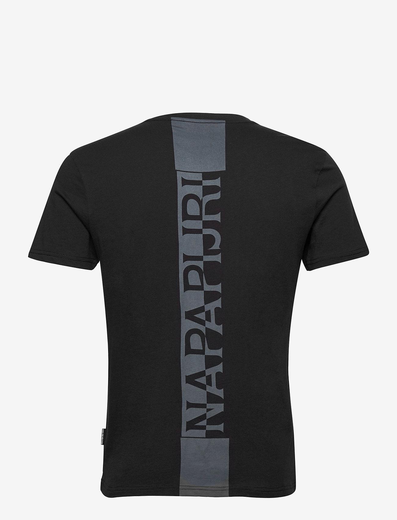 Napapijri - S-SURF SS - podstawowe koszulki - black - 1