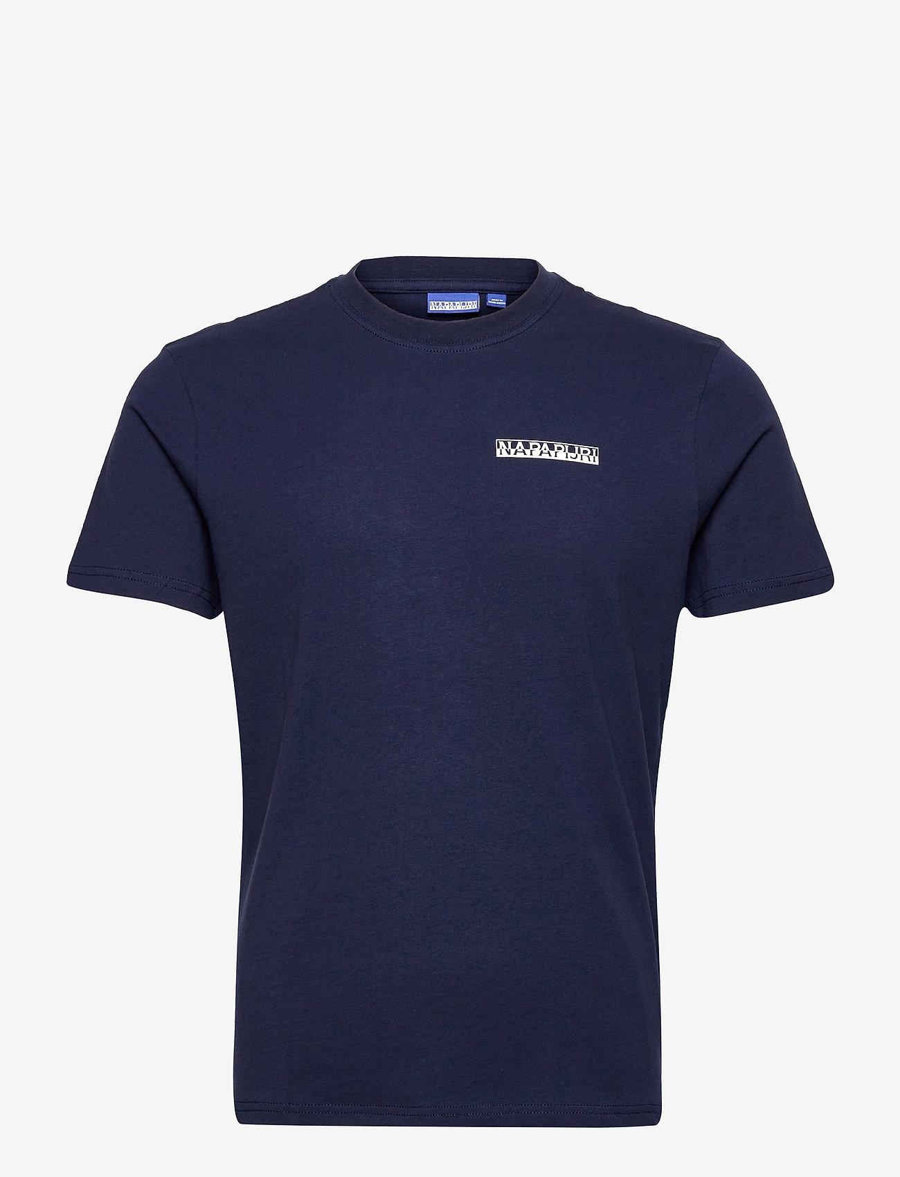 Napapijri - S-SURF SS - basic t-shirts - medieval blue - 1