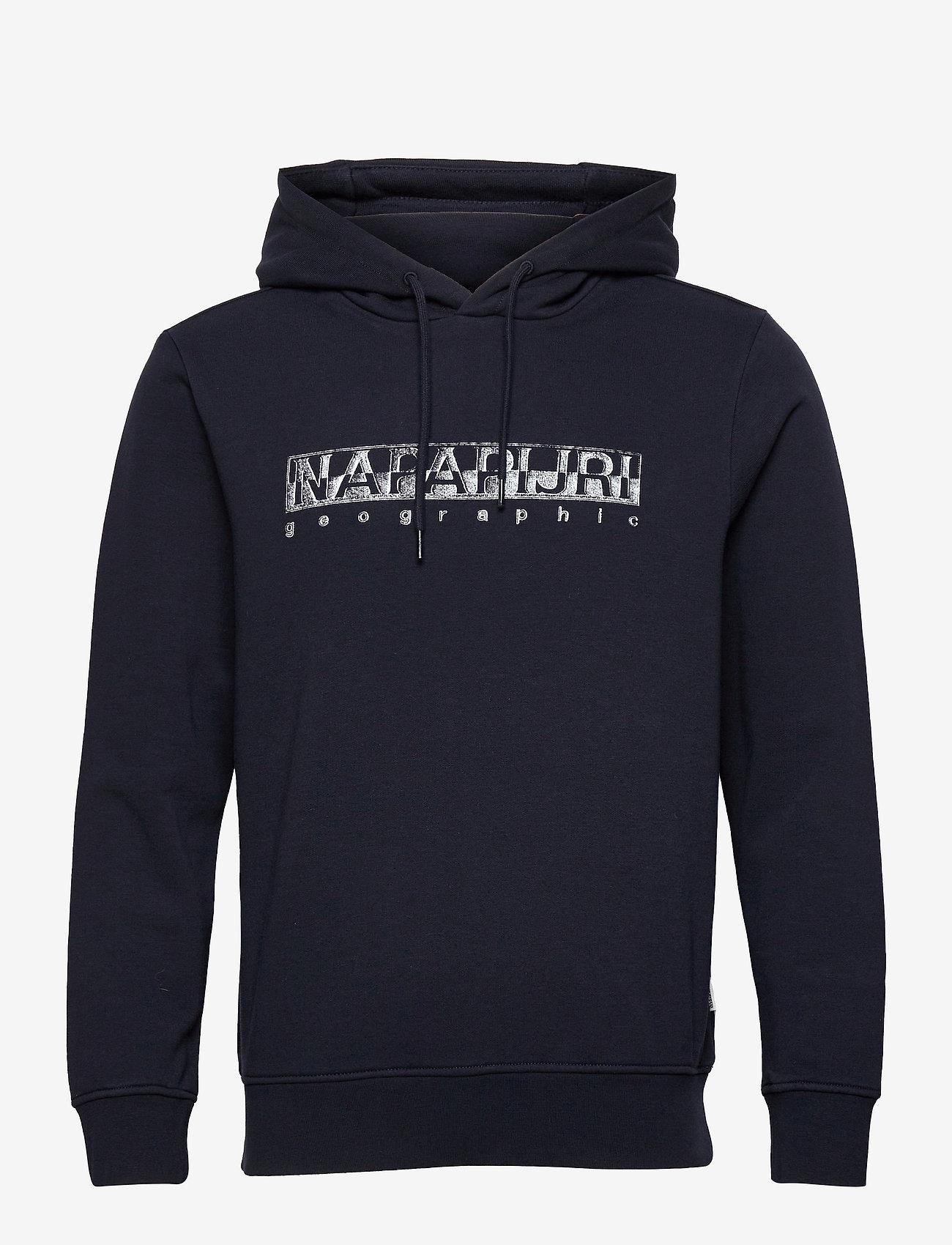 Napapijri - BALLAR H - sweats à capuche - blue marine - 0