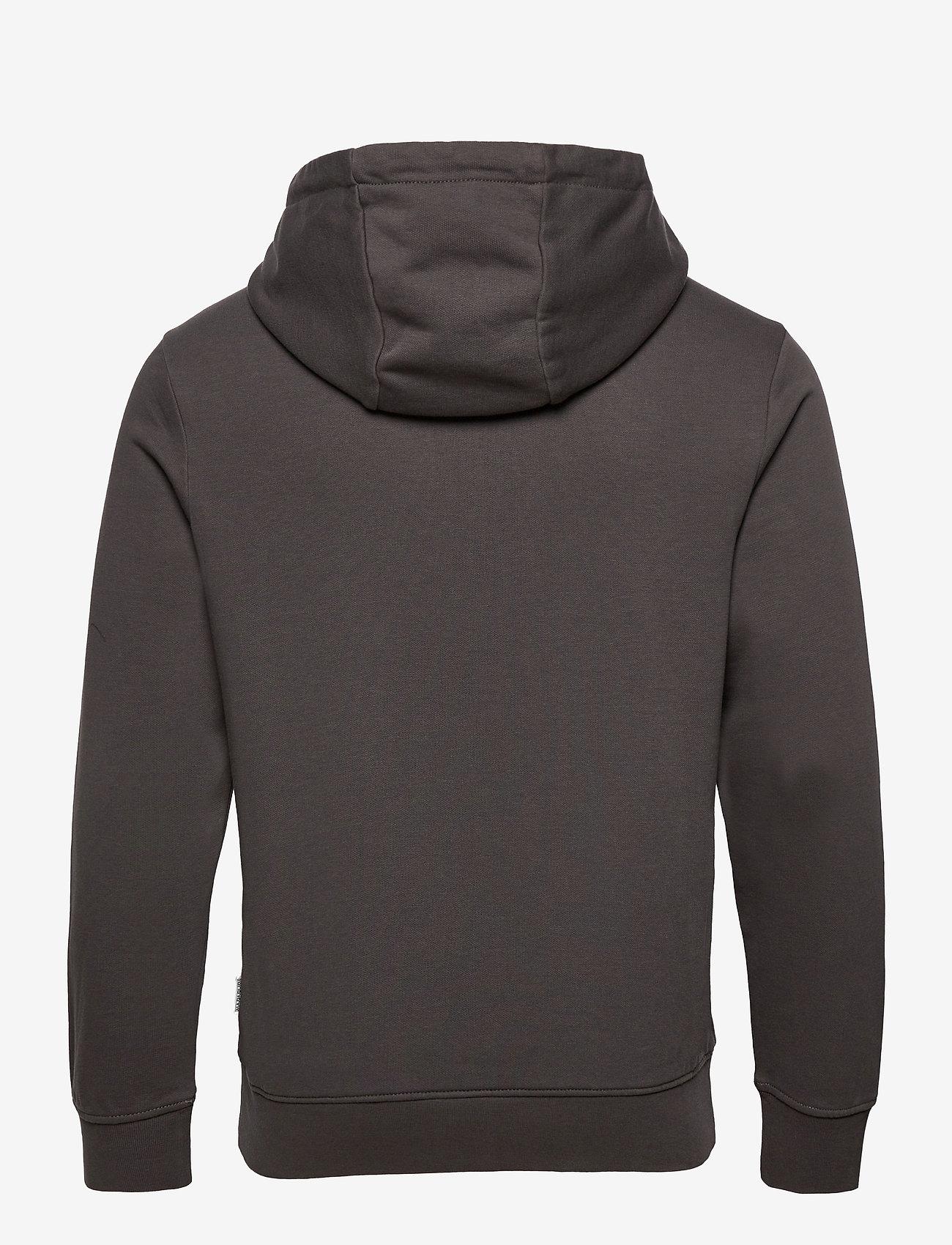 Napapijri - BALLAR H - hoodies - dark grey solid - 2