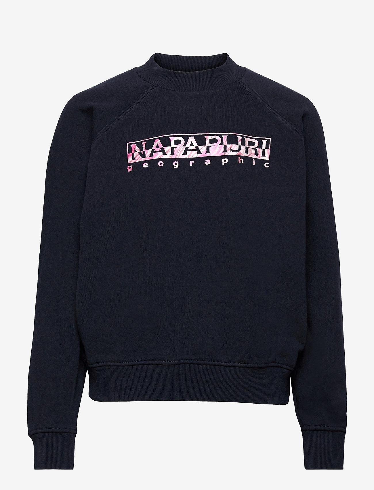 Napapijri - BILEA C - sweatshirts & hoodies - blue marine - 0
