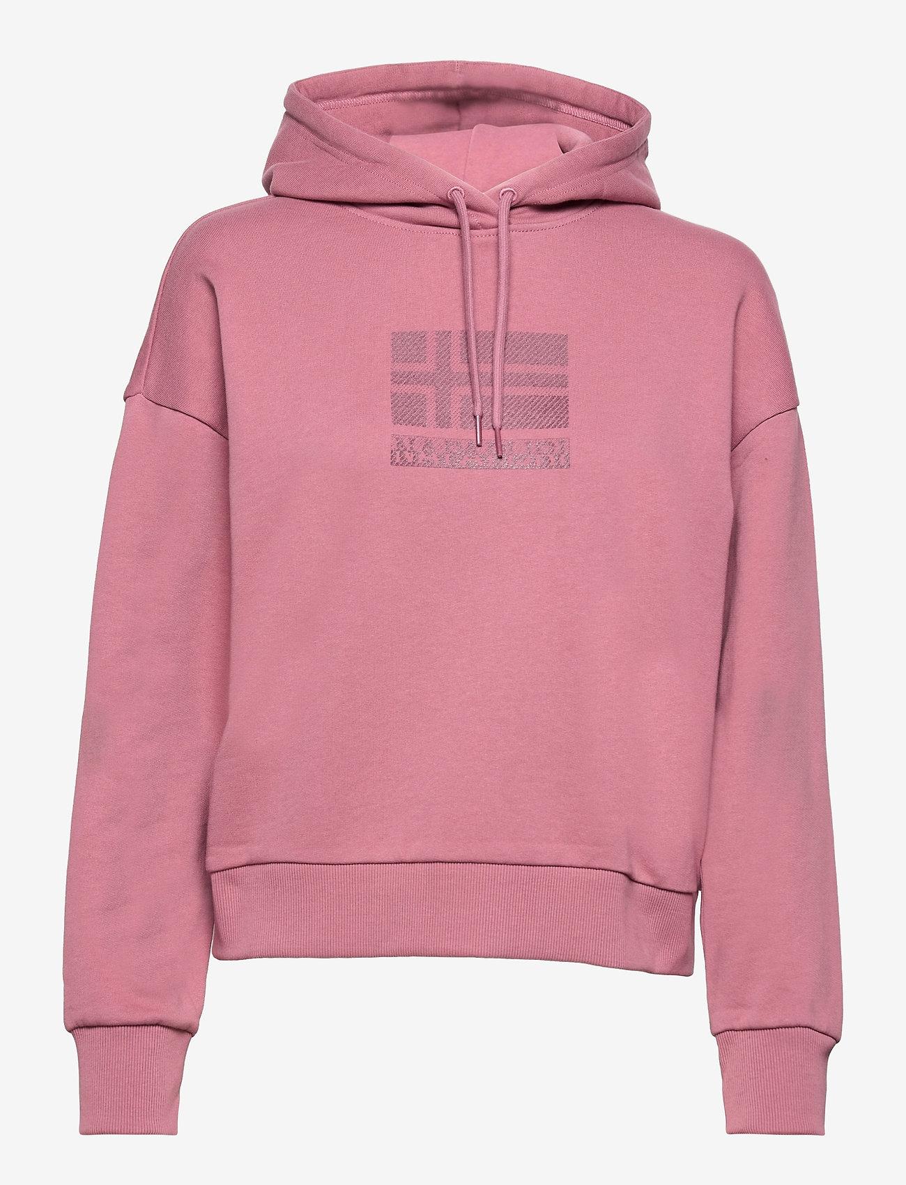 Napapijri - BEOL H - sweatshirts & hoodies - mesa rose - 0