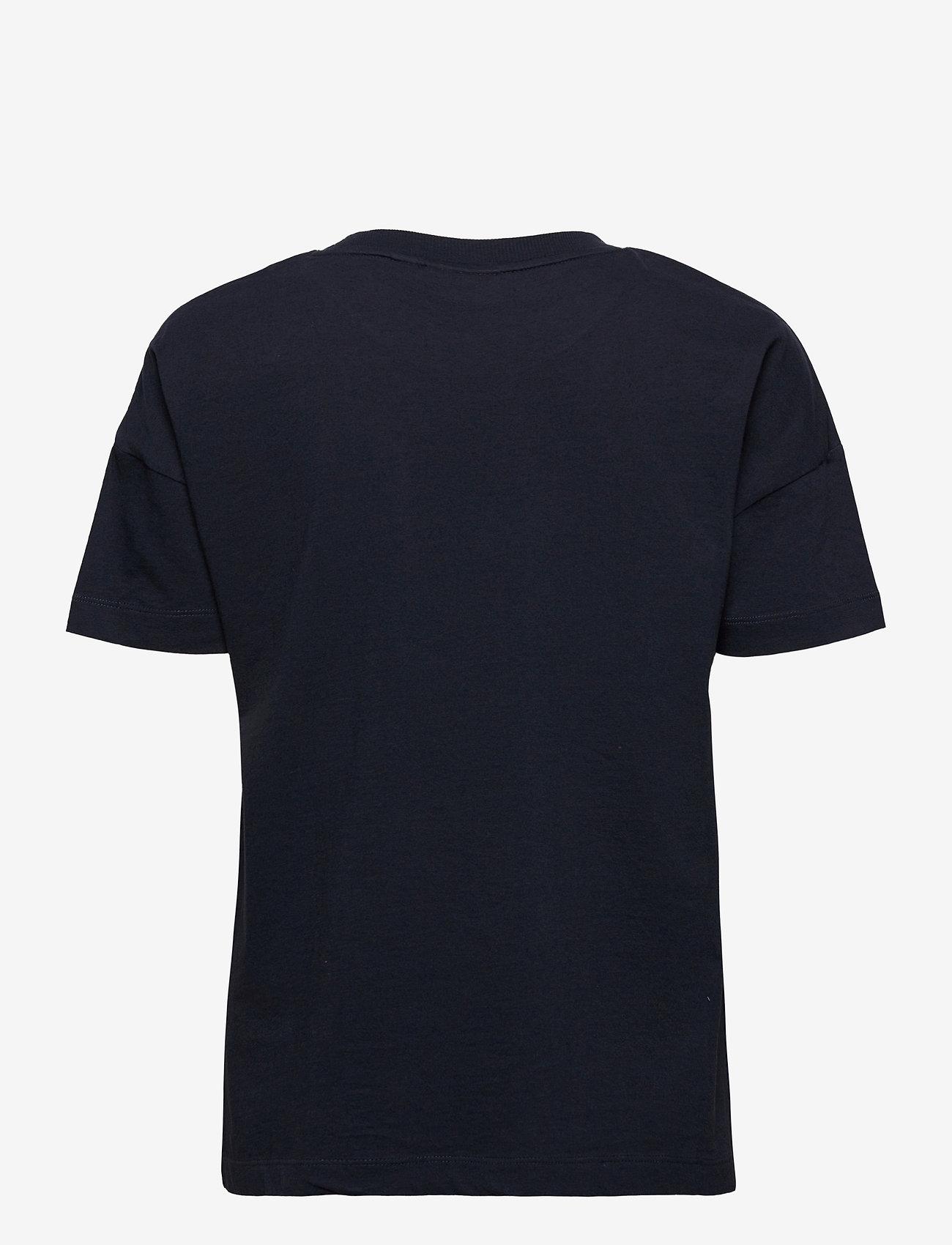 Napapijri - SILEA SS - t-shirts - blue marine - 1