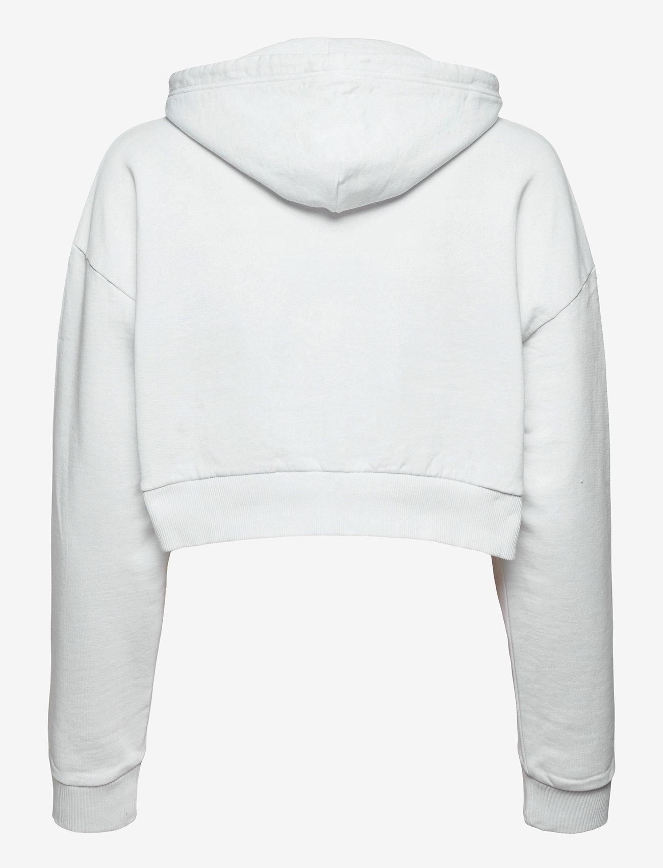 Napapijri - B-BOX CROPPED H S - sweatshirts & hættetrøjer - bright white - 1