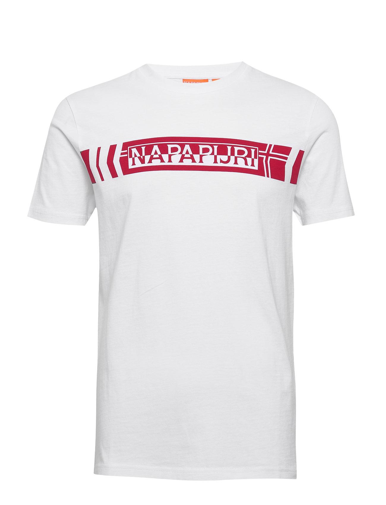 Napapijri SEGY SS - BRIGHT WHITE