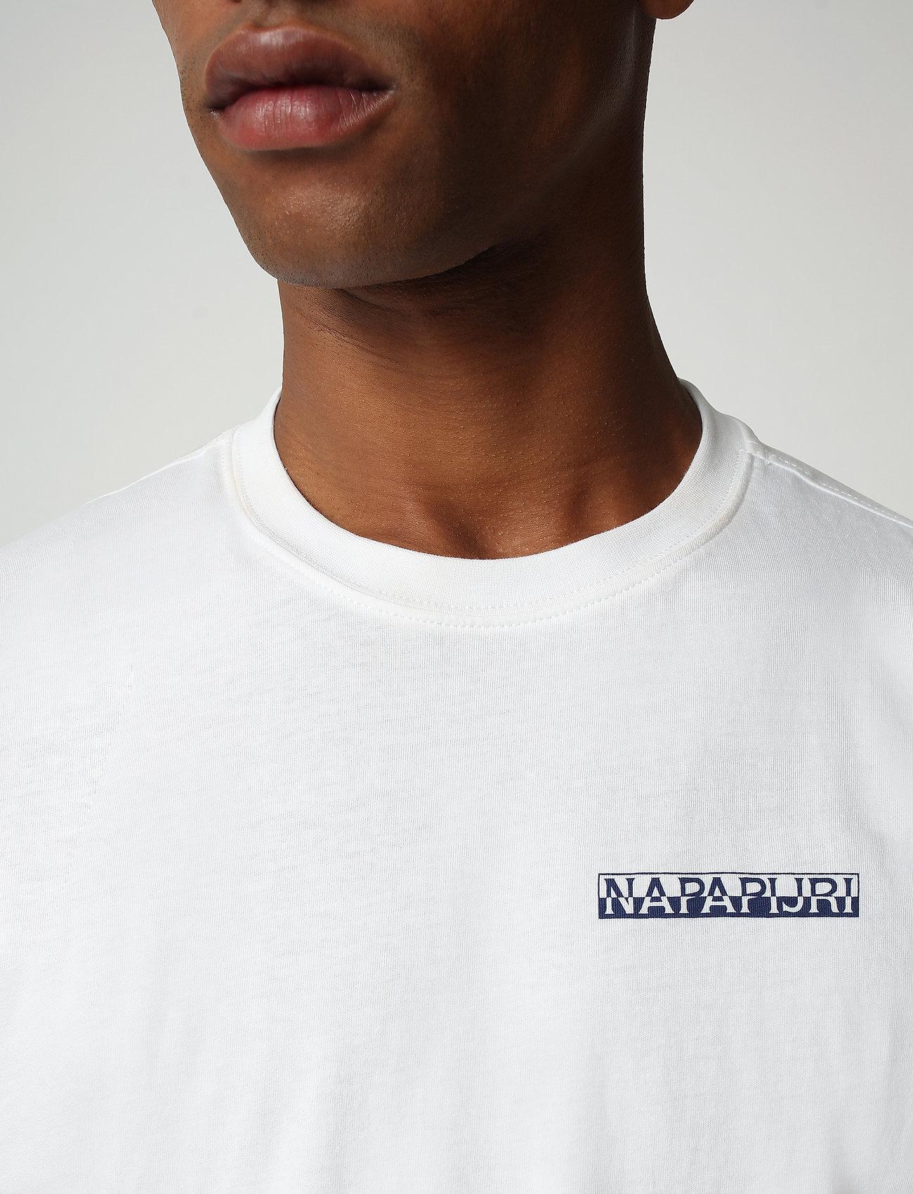 Napapijri - S-SURF SS - basic t-shirts - bright white - 4