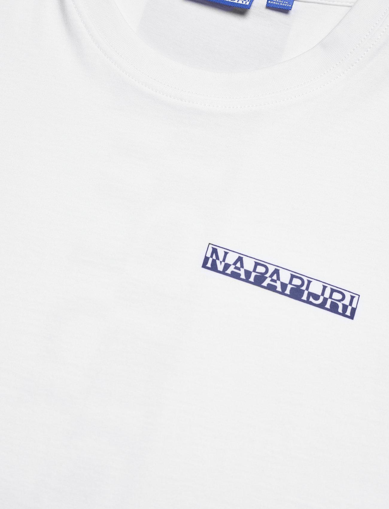 Napapijri - S-SURF SS - basic t-shirts - bright white - 5