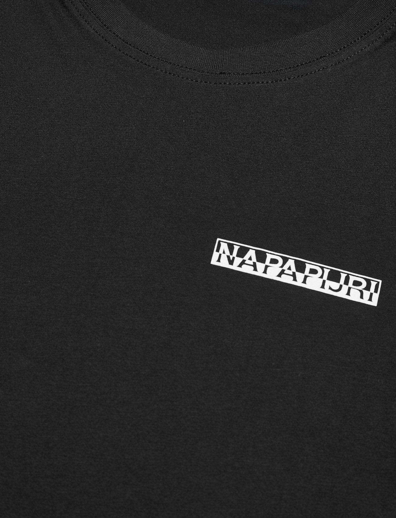 Napapijri - S-SURF SS - podstawowe koszulki - black - 2