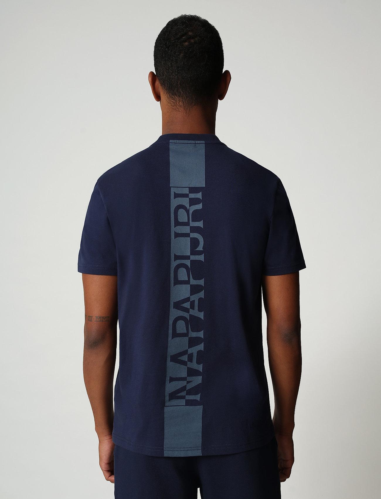 Napapijri - S-SURF SS - basic t-shirts - medieval blue - 3