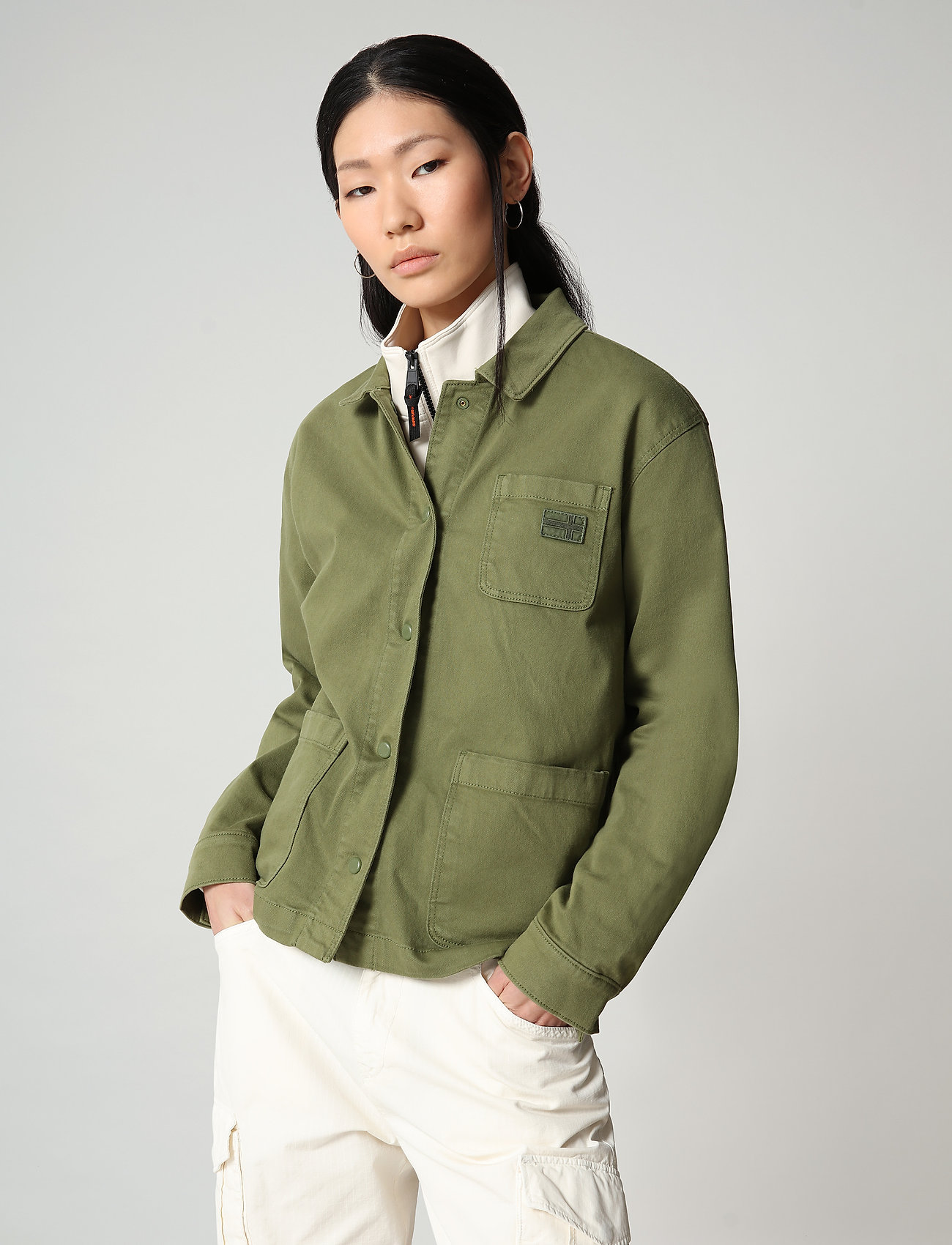 Napapijri - ALIE - overshirts - green cypress - 0
