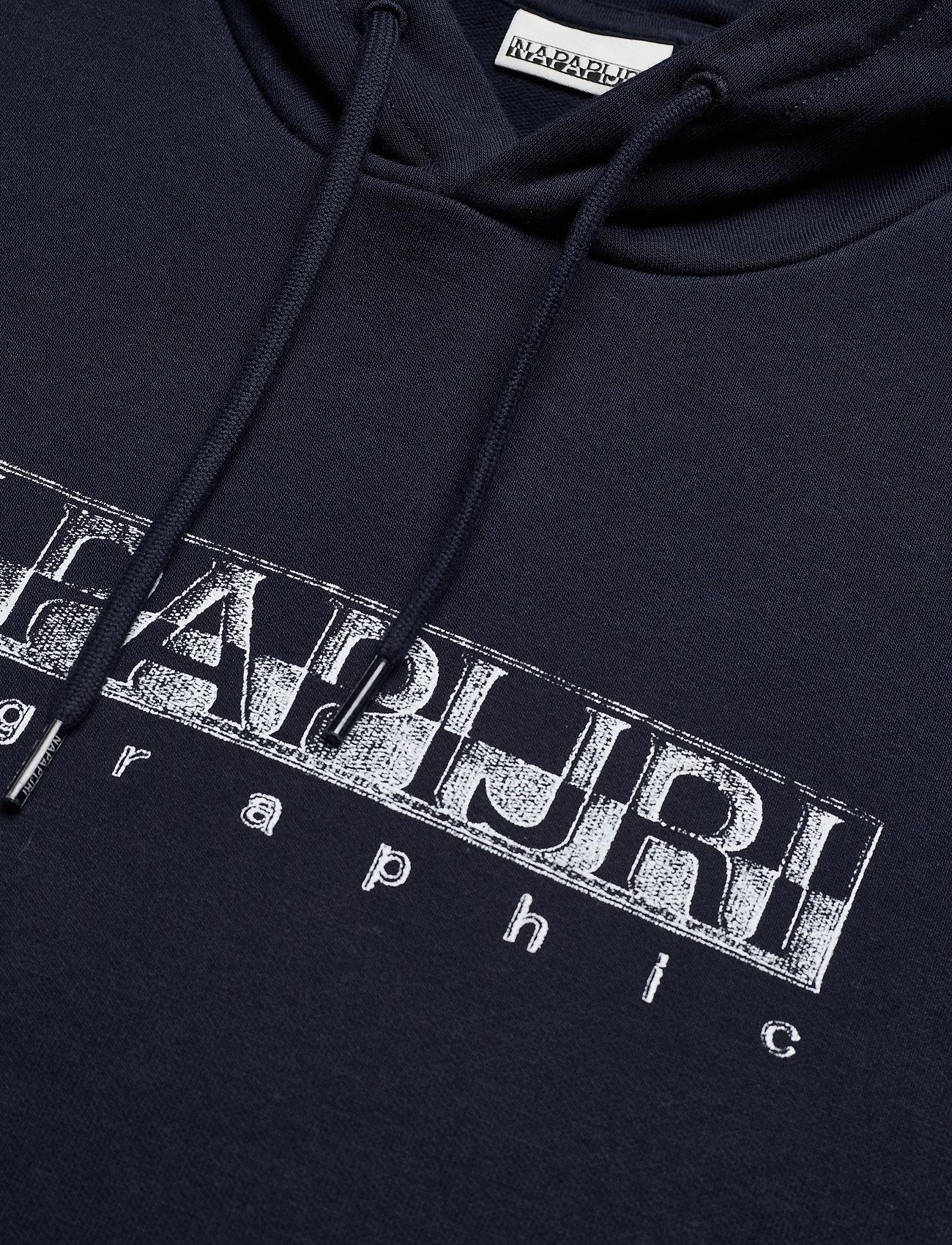 Napapijri - BALLAR H - sweats à capuche - blue marine - 2