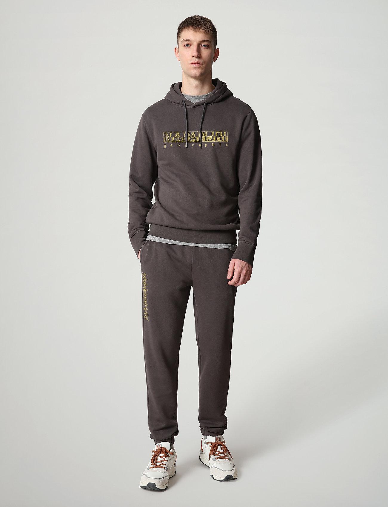 Napapijri - BALLAR H - hoodies - dark grey solid - 3