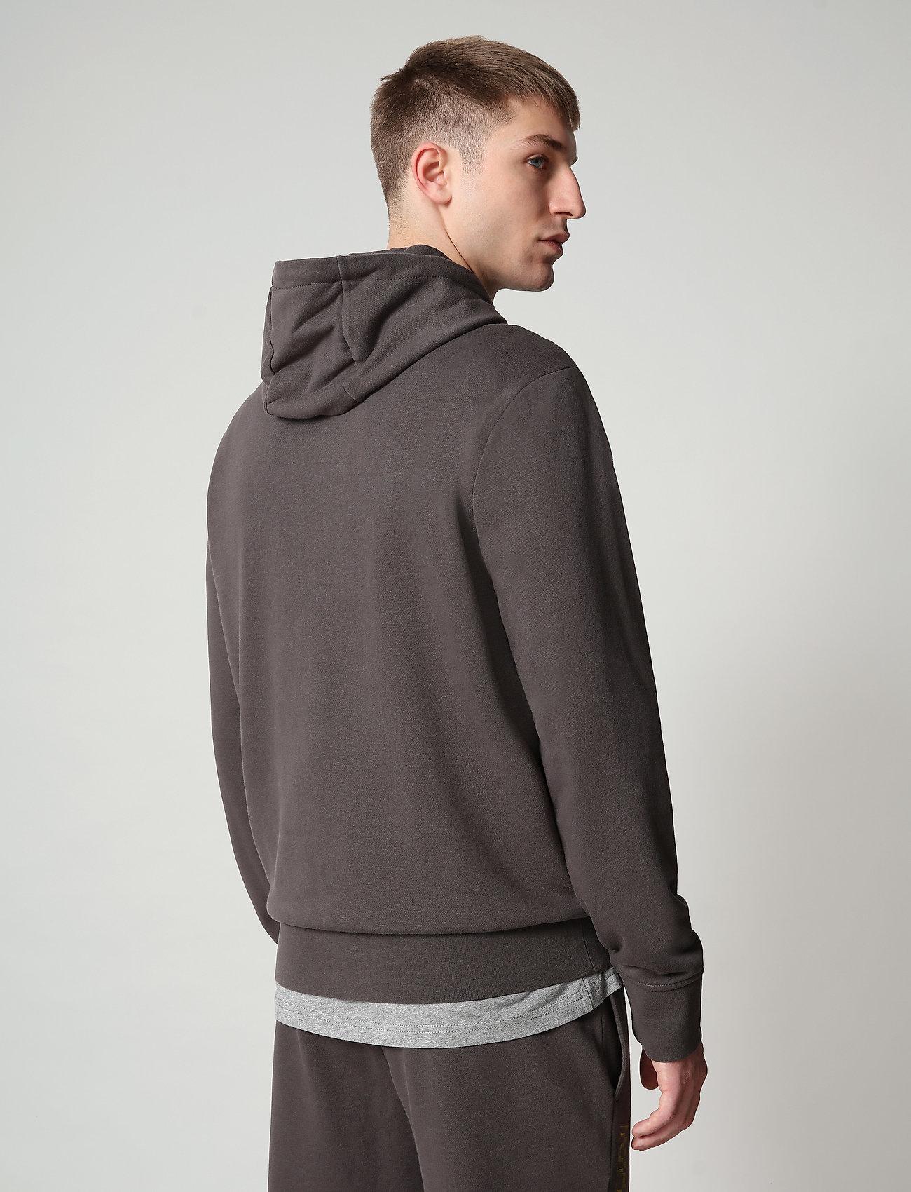 Napapijri - BALLAR H - hoodies - dark grey solid - 4