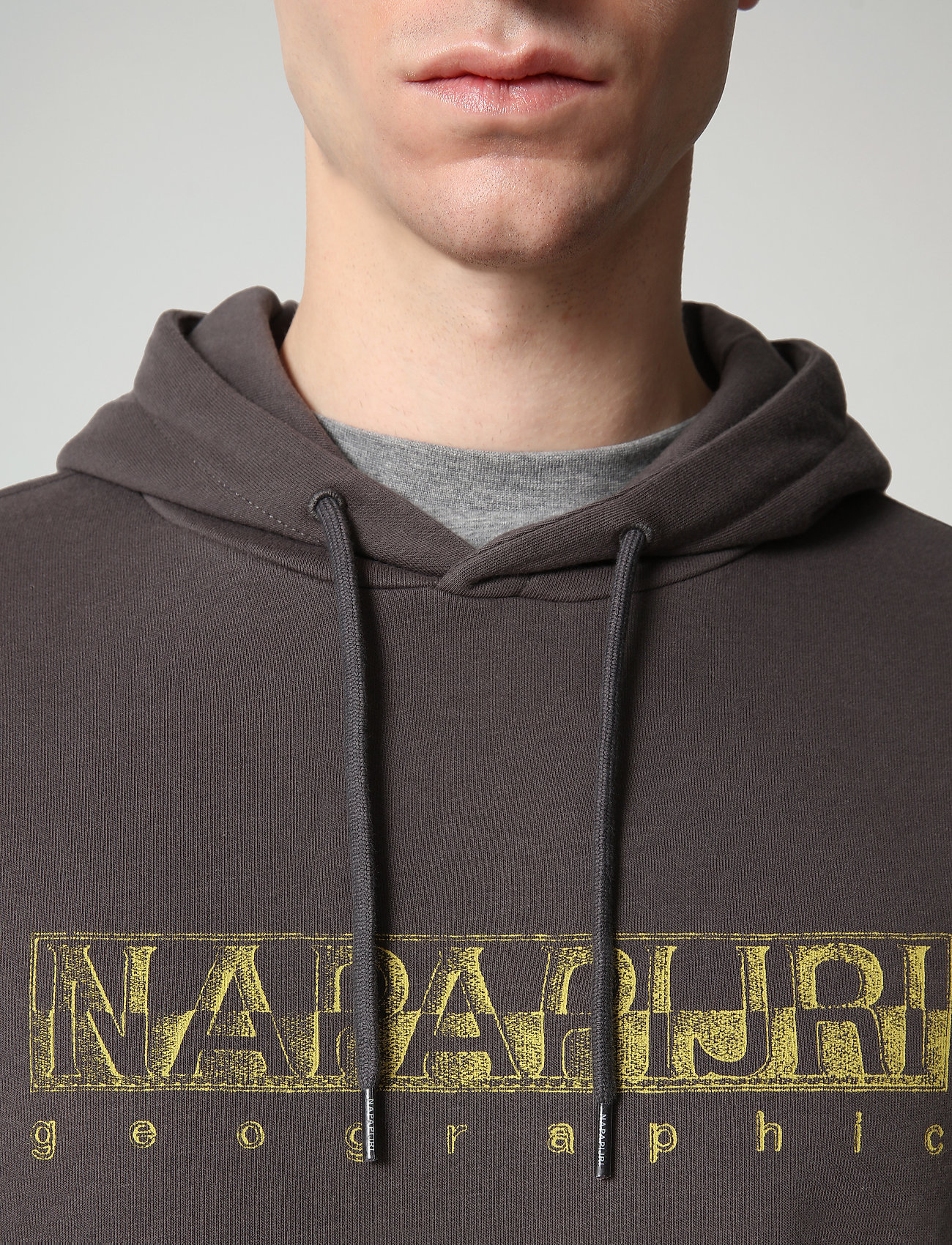 Napapijri - BALLAR H - hoodies - dark grey solid - 5