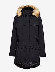 Napapijri - SKIDOO W SL PARKA - parka coats - black - 1