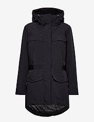 Napapijri - SKIDOO W SL PARKA - parka coats - black - 2