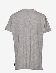 Napapijri - SIONE - t-shirts - grey melange - 1
