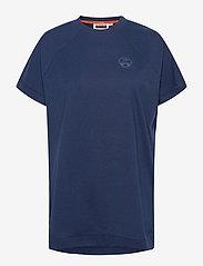 Napapijri - SILBE W - t-shirts - medieval blue - 0