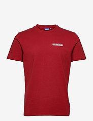 Napapijri - S-SURF SS - t-shirts basiques - old red - 0