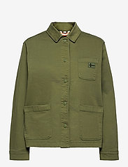 Napapijri - ALIE - overshirts - green cypress - 1