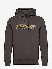 Napapijri - BALLAR H - sweats à capuche - dark grey solid - 1