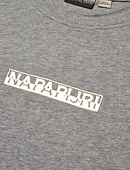Napapijri - SIONE - t-shirts - grey melange - 2
