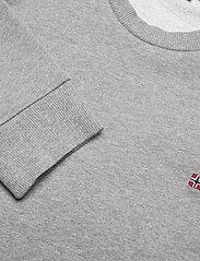 Napapijri - BALIS CREW - basic gebreide truien - med grey melange - 3