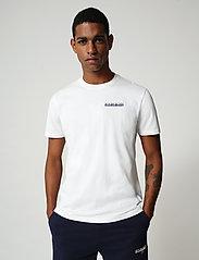 Napapijri - S-SURF SS - basic t-shirts - bright white - 0