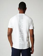 Napapijri - S-SURF SS - basic t-shirts - bright white - 3