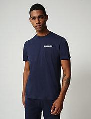 Napapijri - S-SURF SS - basic t-shirts - medieval blue - 0