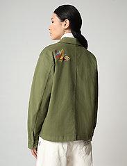 Napapijri - ALIE - overshirts - green cypress - 5