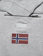 Napapijri - BURGEE SUM 3 - hoodies - med grey melange - 3