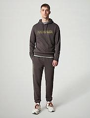 Napapijri - BALLAR H - sweats à capuche - dark grey solid - 3