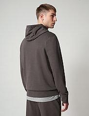 Napapijri - BALLAR H - sweats à capuche - dark grey solid - 4