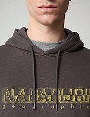 Napapijri - BALLAR H - sweats à capuche - dark grey solid - 5