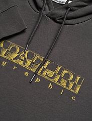 Napapijri - BALLAR H - hoodies - dark grey solid - 6