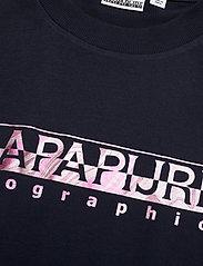 Napapijri - SILEA SS - t-shirts - blue marine - 2